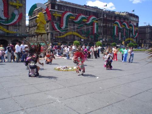El Zócalo - Ciudad de Mexico´s square: El Zócalo. Awesome!