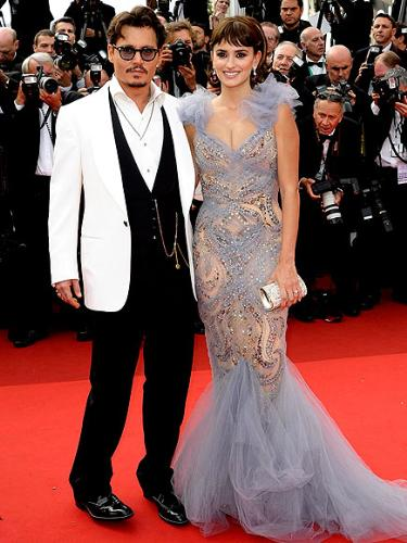Johnny and Penelope - Johnny Depp and Penelope Cruz at this years Cannes Film Festival.