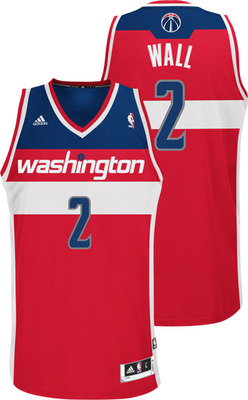 Wizards uniforms - The Washington Wizards sure had some ugly uniforms! Yikes!