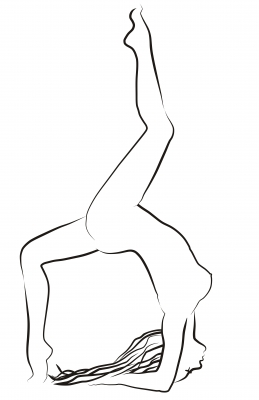 Gymnast - Drawing of a gymnast by Vlado www.freedigitalphotos.net/images/view_photog.php?photogid=1836