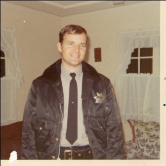 One of my Heroes -  This is my Uncle Danny. I never met him because he died before I was born. He was a police officer right outside the city of Oakland, California. One night he went to work and died in the line of duty. He left behind a wife and a three year old little girl.