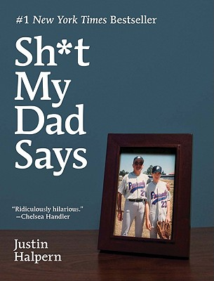 Sh*t my day says - The cover picture of the book Sh*t my day says by Justin Halpern.