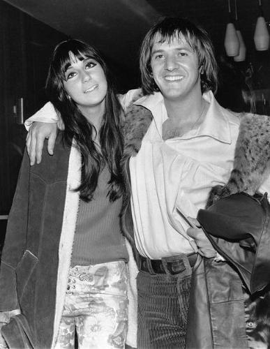 Sonny and Cher - Sonny and Cher in the late 1960's. Of course they did divorce but remained good friends!