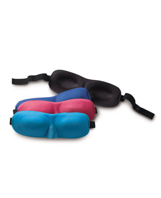 Light out Masks - They come in handy when it is necessary for the lights to be on when one is sleeping. They also help one have a sound sleep in the day time.