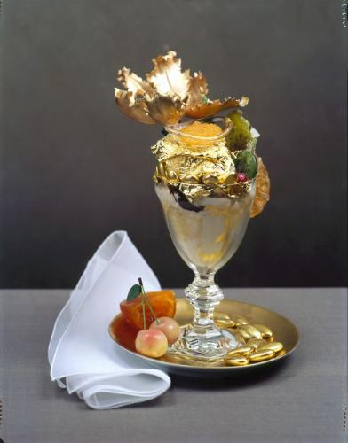 The most expensive ice cream - Golden Opulence Sun - Costing a thousand dollars is within reach if one has the ambition to taste it