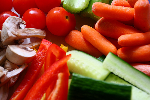 Vegetables - Vegetables are good companions when you are on a diet