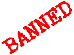 Ban depends on administrator. - Banning is last resorts