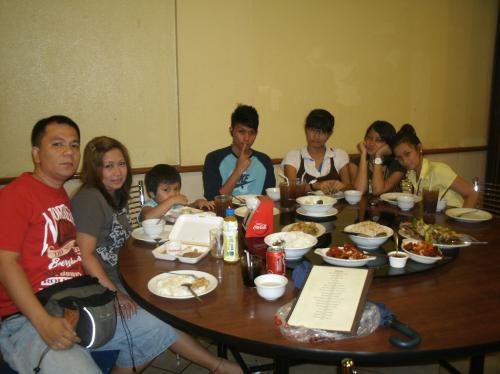 mothers day  - dinner at luyong resto