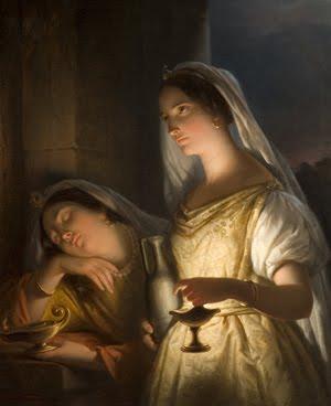 parable of the 10 virgins - The parable of the 10 Virgins from Matthew 25:1-13