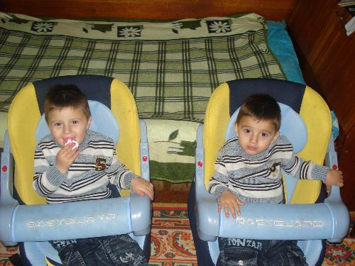 My children - twins Mario and Martin