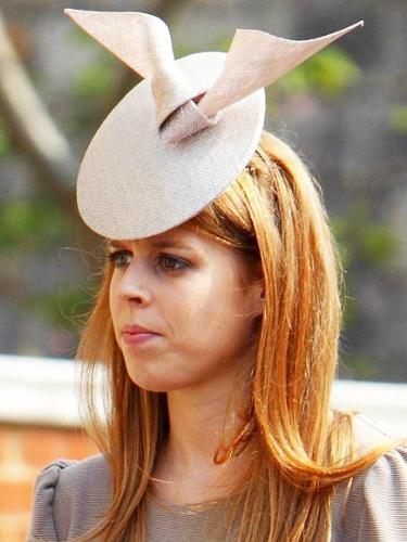 The Princess - This one of my least favorite hats I have seen Princess Beatrice wear!