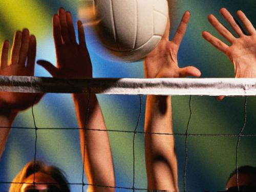 volleyball - the way of blocking...nice..