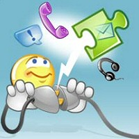 messenger.. - All of us use messenger..so they know how important is to comunicate...