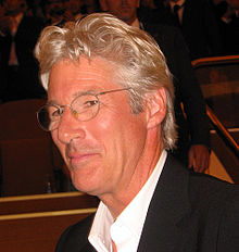 Richard Gere - Richard Gere is best known for Pretty Woman,Chicago and Runaway bride.