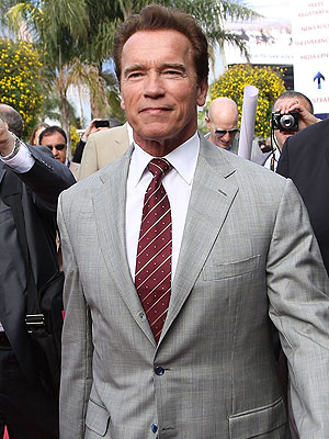 Arnold Schwarzenegger - The sperminator!