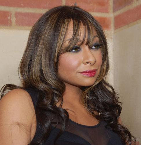 Raven Symone - She is an actress and singer. She starred on her own Disney Show 'That's so Raven'.