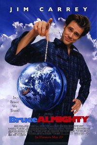 Bruce Almighty - A funny movie! I love Jim Carrey!
