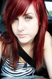 red haired girl - girl with red hair
