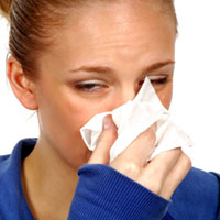 health - make it a habit to cover mouth and nose with a hanky or tissue when sneezing