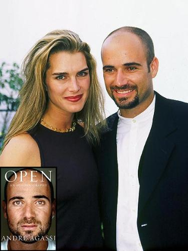 Brooke Shields and Andre Agassi - Their marriage did not last and both found love with someone else! Both also have kids!