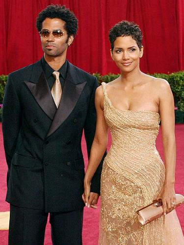 Halle Berry and Eric Benet - That marriage didn't last long because Eric Benet was a sex addict.