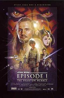 Satr Wars-the phantom menece - I first of three Star War movies that comes before the original 3 Star Wars.