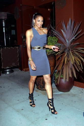 Ciara - Ciara has a very nice dress on. I really hate the shoes!