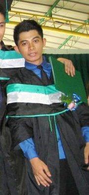 That's me. - Graduation picture last May 24, 2011.