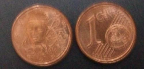How to get a 1/5th of an EuroCent ? - How can I split a blurred EuroCent in 5 parts and take one ?