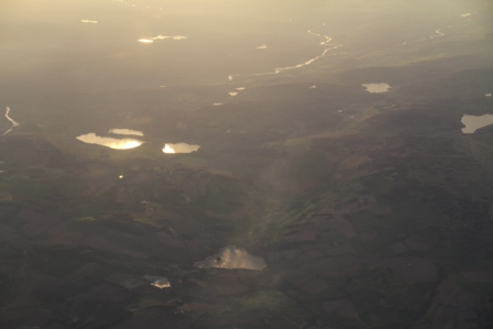 Scotland from above - Scotland seen from a plane