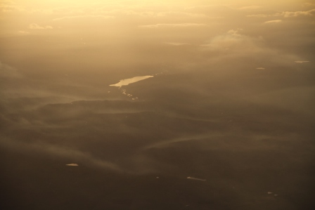 Sunny Scotland - Sunny Scotland seen from the plane