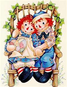 Raggedy Ann and Andy - I had everything of Raggedy Ann and Andy in my room when I was a kid.