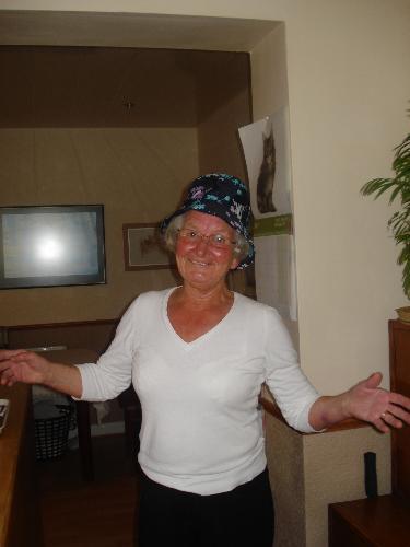 Mum In New Hat - Mum's New Hat