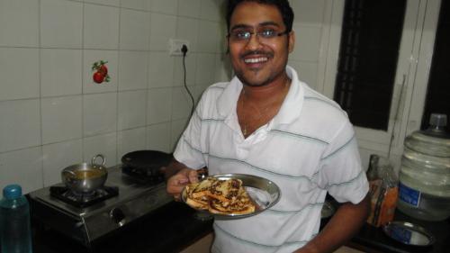 The 1st Dish i made,,,,I think its called french  - FrenchToast