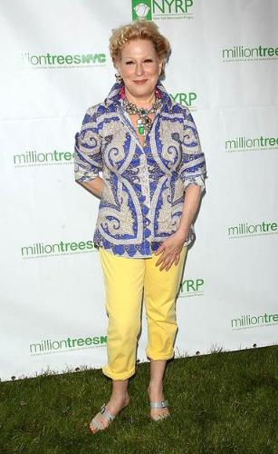 omg! - Does Bette Midler looks ridiculous! It looks like she has given up on style and fashion! So sad!