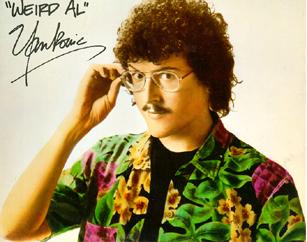 Weird Al - Weird Al Yankovich in the 1980's.
