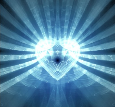 The Heart - The Spiritual Blue Heart, And its Divine Essence Within.