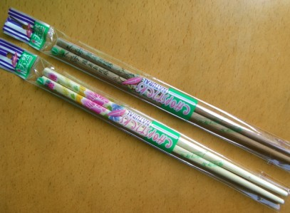 japan style bamboo chopstick  - is time to learn how to use the chopstick if you like to taste chinese food.