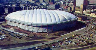 Metro Dome - The Metro Dome when it was first open in 1982.