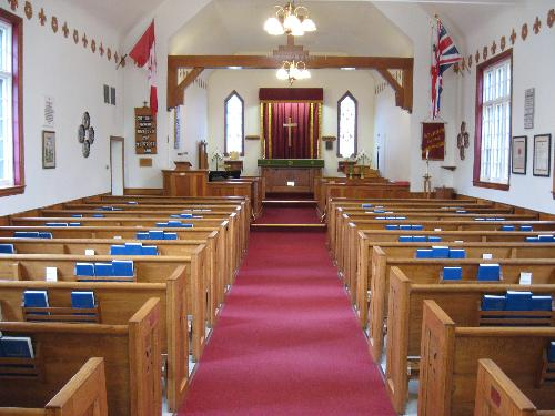Church - The inside of a church