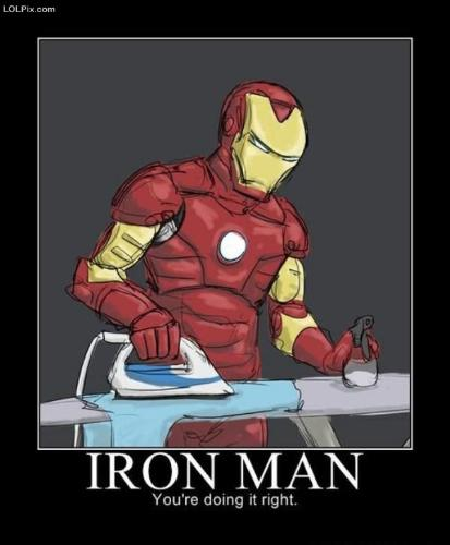 funny - nice job he has there! with great powers comes great chores!
