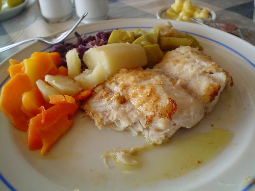 Fried chilean eel - The chilean eel, congrio, is one of the most coveted fishes in Chile.