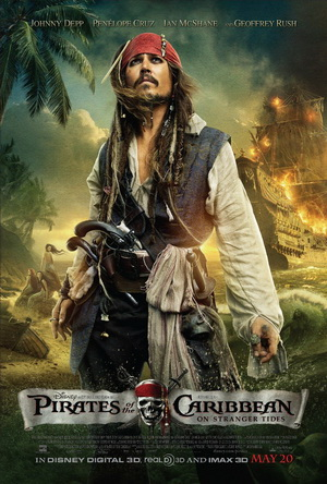On Stranger Tides - The latest 'Pirates' movies.
