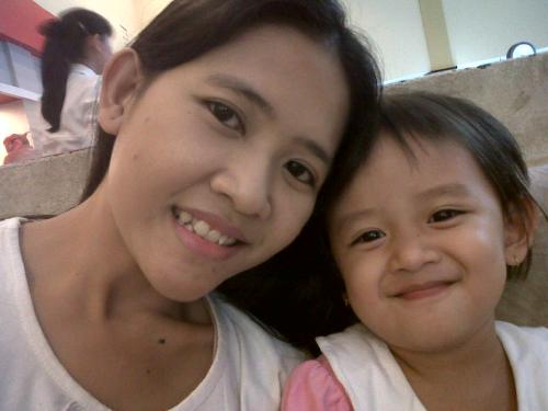 Me N My daughter - I Love My All child. they funny and give me more happiness.