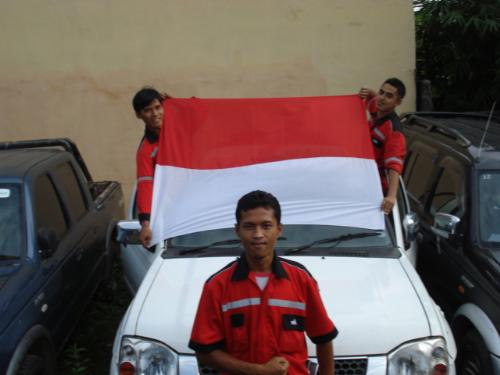 I love Indonesia - Indonesia is country located on South East Asia.