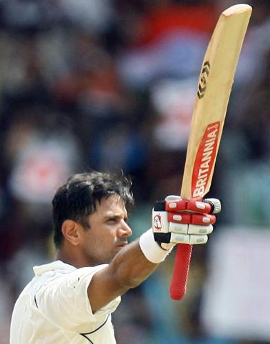 Rahul Dravid - Rahul Dravid-the best test cricketer.