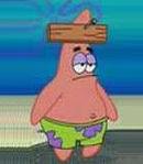 Patrick Star - Spongebob's best friend and neighbor.