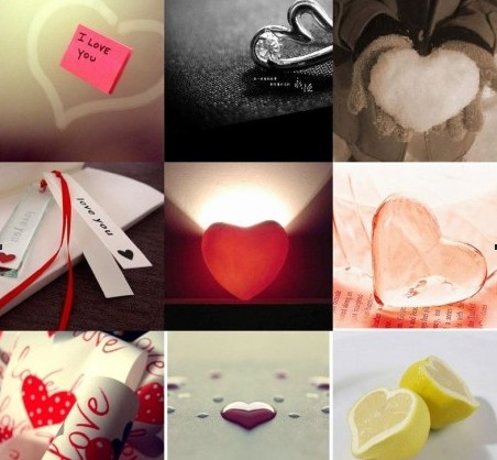 Wat is love - The shape of love.Which one is yours?