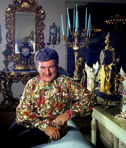 Liberace - The late Liberace in 1974. He was flamboyout,outragous and an entertainer.