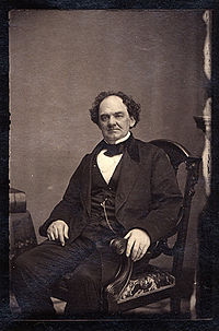 P.T.Barnum - He was a circus man. Barnum was a showman. He got people's attention with sideshows. He's famous quote is: There is a sucker born every minute.